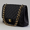 "A ""double flap bag maxi"" by chanel 2009 10"