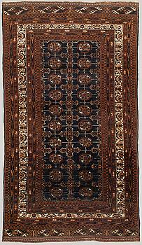 A Beluch rug. Circa 197 x 110 cm.