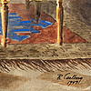 Rudolf carlborg, watercolour, signed r. carlborg and dated 1949.