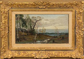ARVID MAURITZ LINDSTRÖM, oil on canvas. Signed.