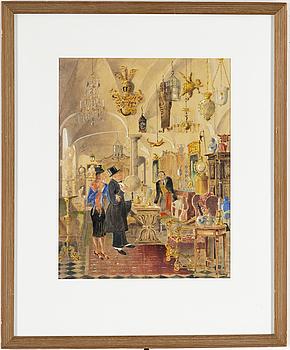RUDOLF CARLBORG, RUDOLF CARLBORG, Watercolour, signed R. Carlborg and dated 1941.