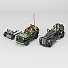 Two military vehicle, one from josef neuhierl jnf ca 1939 germany.