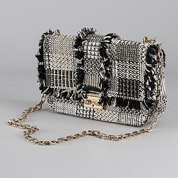 "CHRISTIAN DIOR, ""Limited Edition Tweed Miss Dior"", handväska."