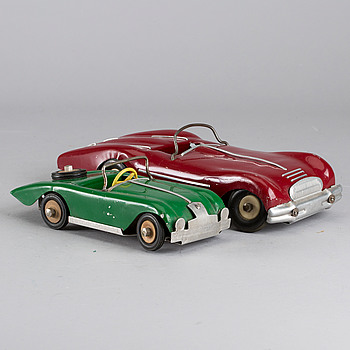 TWO SPORTS CARS BY KREUGER & STENSRUD NORWAY AND SWEDEN CA 1950.