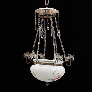 AMPEL, för sex ljus, 1800-tal.