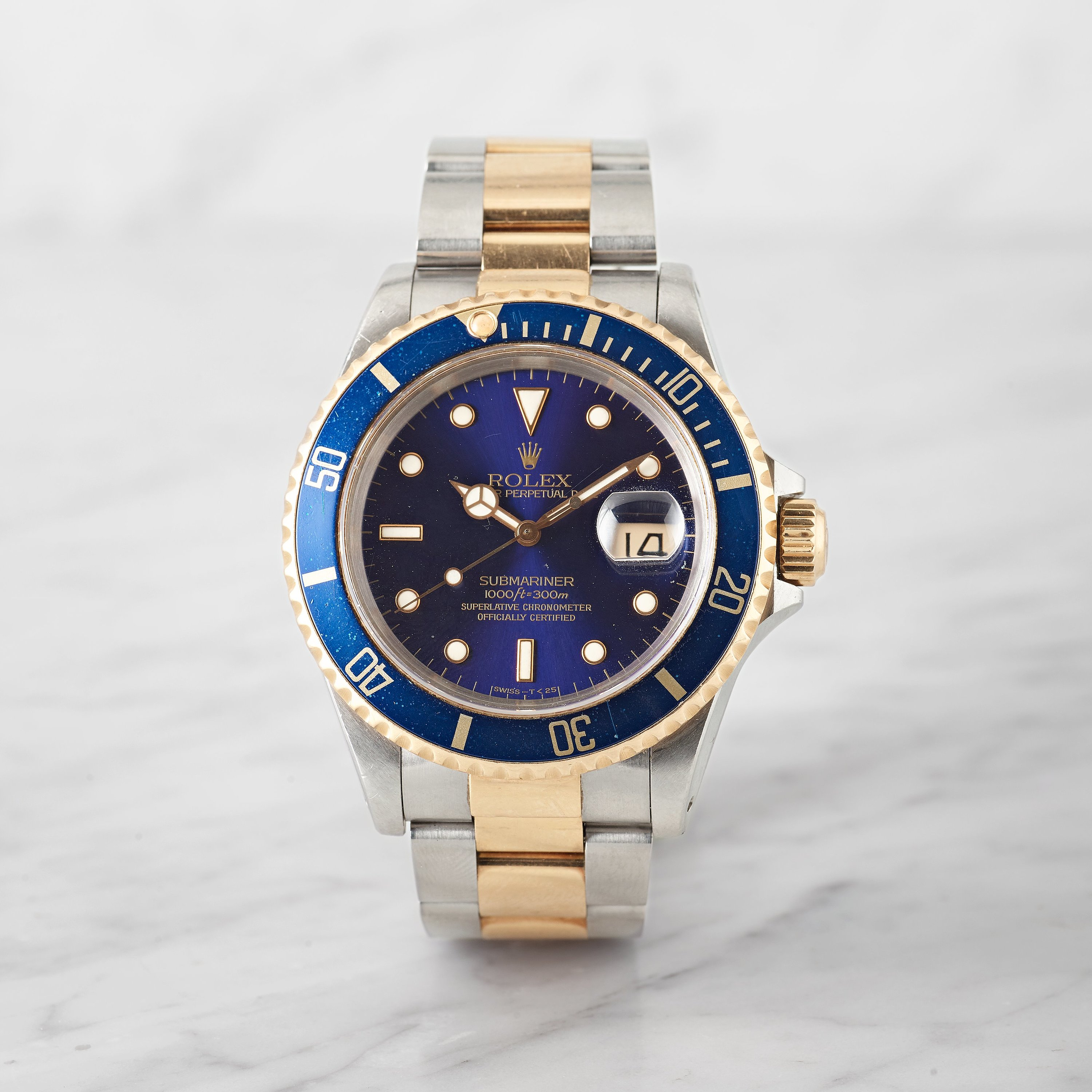 rolex oyster perpetual date submariner 1000ft 300m swiss t. Black Bedroom Furniture Sets. Home Design Ideas