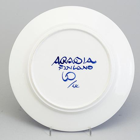 Photo Bukowskis & ULLA PROCOPÉ Eight Ulla Procopé porcelain plates u0027Valenciau0027 for ...