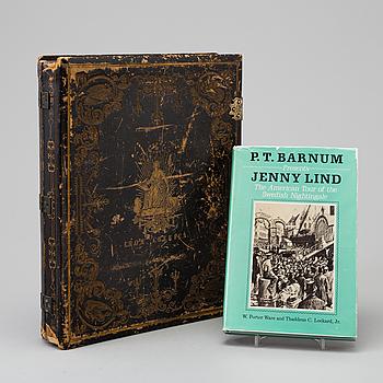 "MINNESGÅVA, ""The Republic's offering to Jenny Lind"", 1850-tal."