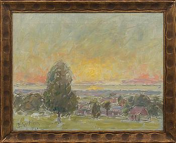 PER EKSTRÖM, olja på duk, signerad och daterad 1921.