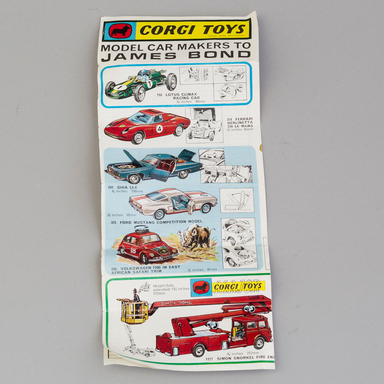 a set of 24 model cars by Corgi Toys & Tekno, England