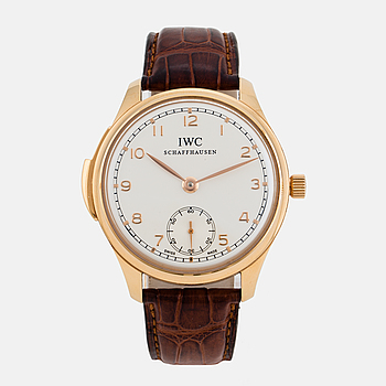 IWC, Schaffhausen, Portuguese Minute Repeater, wristwatch, 44 mm.