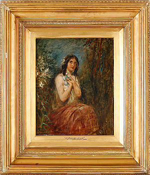 ALFRED JOSEPH WOOLMER, oil on canvas, signed.