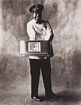 """160. Irving Penn, """"Train Coach Waiter, New York 1951""""."""
