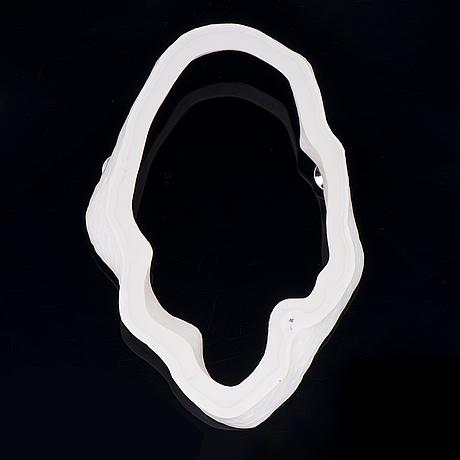 """Tarja tuupanen, brosch, """"valkoisesta"""", cacholong, silver, 2009"""