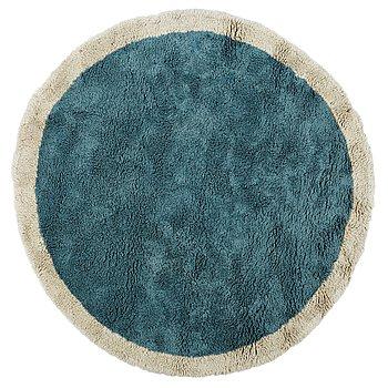 213. Arne Jacobsen, A UNIQUE CARPET, circular, a rya pile variant, diameter ca 300 cm, designed by Arne Jacobsen.