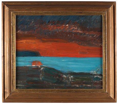 """Carl kylberg, """"aftonens ljus och mörker""""."""