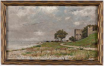WILLIAM FÉRON, WILLIAM FÉRON, oil on canvas, signed.