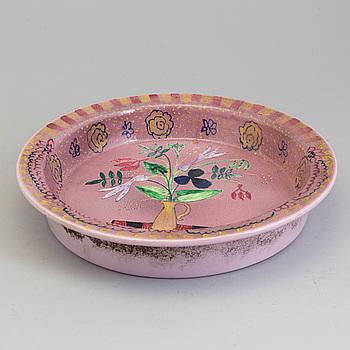 BIRGER KAIPIAINEN, A Birger Kaipiainen bowl, 20 th century. Signed.
