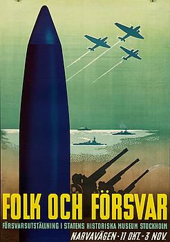ANDERS BECKMAN, poster.