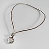Niels erik from, nakskov, denmark, a rock crystal necklace