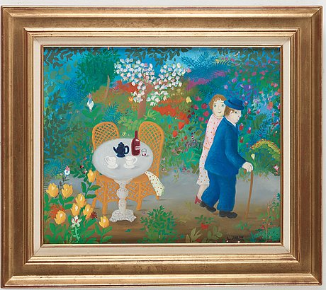 "Lennart jirlow, ""promenaden"" (the walk)."