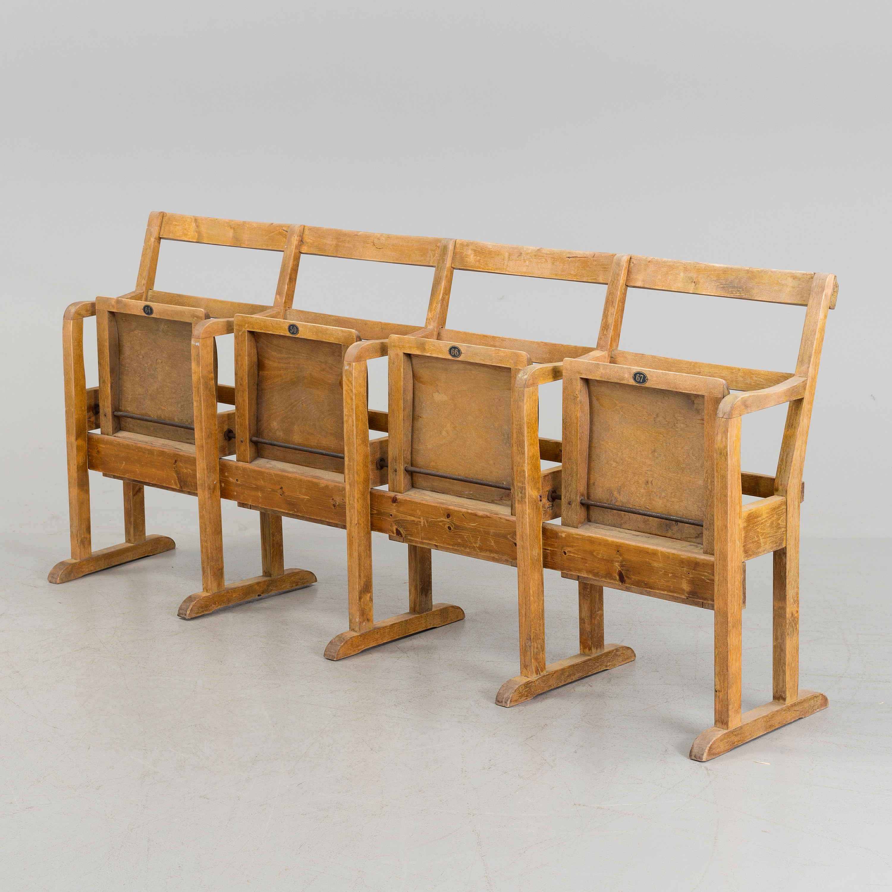 A first half of the 20th century cinema bench  - Bukowskis