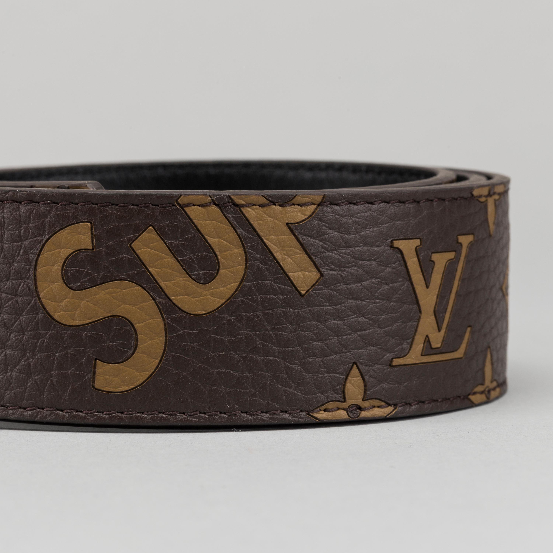 belt supreme lv initiales 40 mm for louis vuitton bukowskis. Black Bedroom Furniture Sets. Home Design Ideas