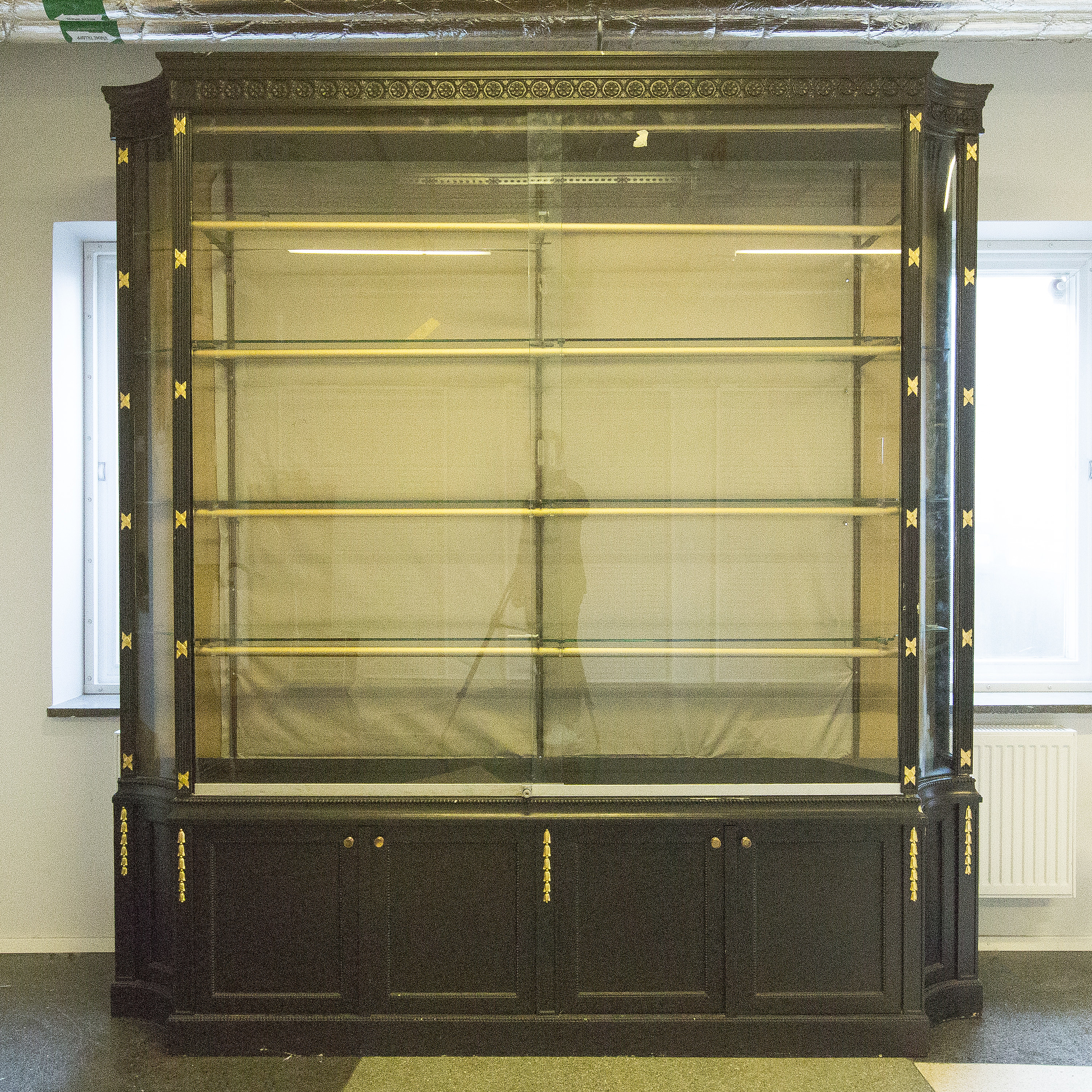 target bookcase oak white bookcases remodel about with your doors for elegant potterybarn glass astonishing