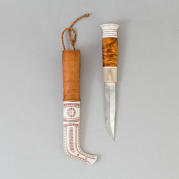 ANDERS SUNNA, halvhornskniv, samearbete, 1900-tal.