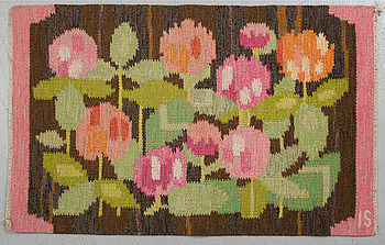 INGEGERD SILOW, INGEGERD SILOW, a wall textile, Axeco Svenska Ab, signed IS.
