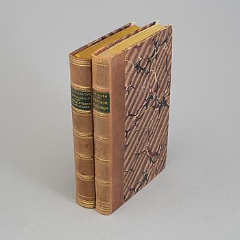 BÖCKER, 2 vol, JH Lidén, Repertorium Benzelianum och Brefwäxling mellan Ärkebiskop Benzelius och dess Broder. 1791.