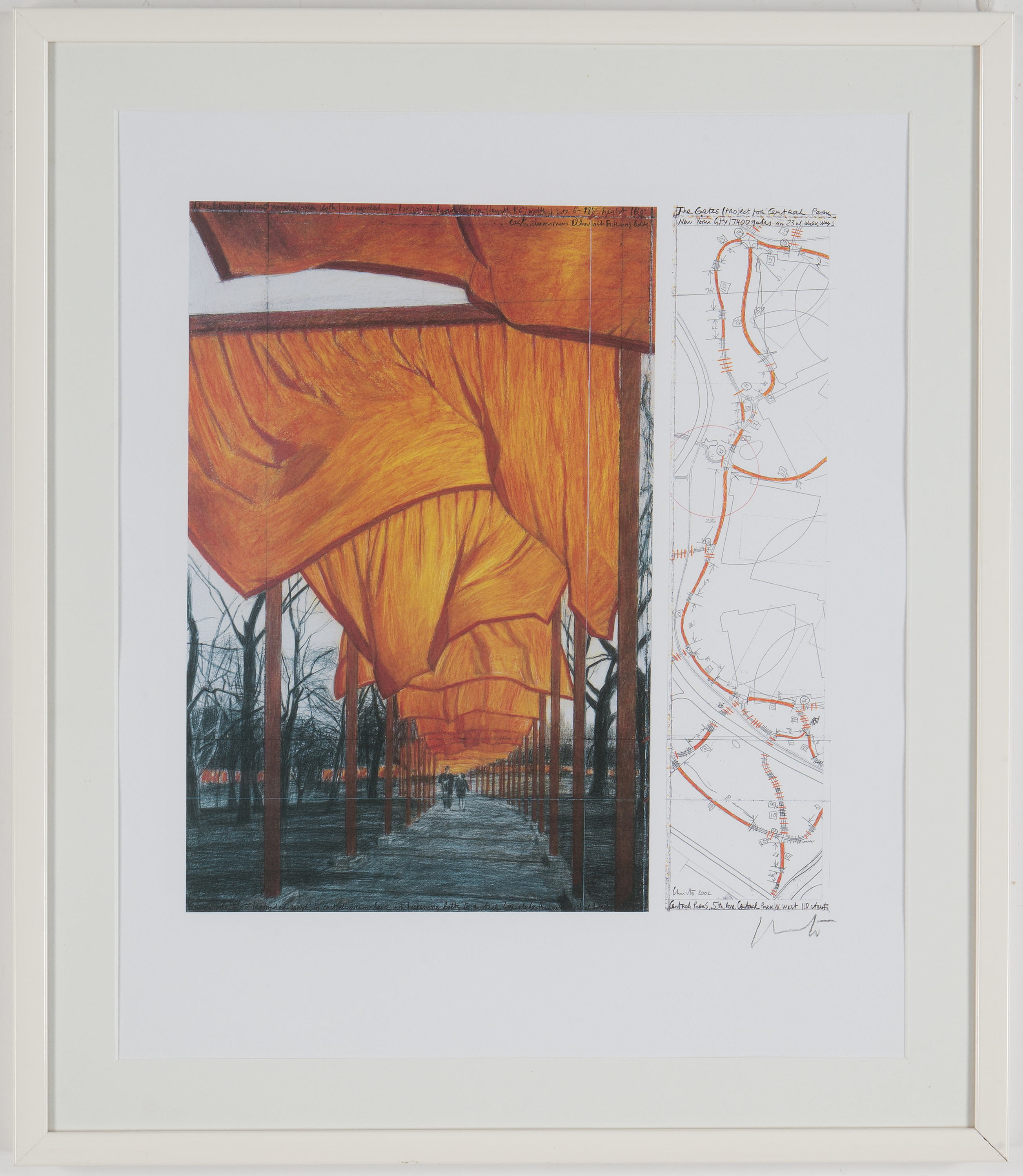 Christo Jeanne Claude Offset Print Signed In Pencil Bukowskis
