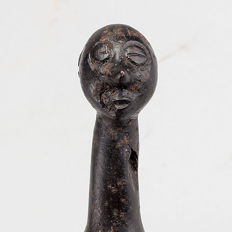 A wooden flute, central africa