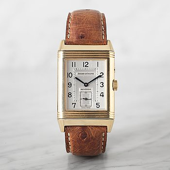 "20. JAEGER-LeCOULTRE, Reverso Duo, ""Night & Day"", armbandsur, 26 x 36,5 (42,5) mm."