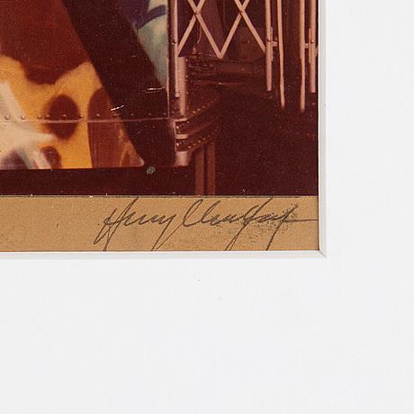 Henry chalfant, photography, gelatin silver print, signerat