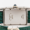 Cartier, tank americaine, wristwatch, 23.5 x 41 mm.