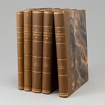 BÖCKER, 4 volymer, Till Norrköpingskrönikan samt Hamnbron i Norrköping.
