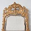 Spegel, stockholmsarbete, 1700-talets andra hälft, rokoko.