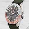 "Rolex, oyster perpetual, gmt-master (swiss-t), chronometer, ""gilt dial"", wristwatch, 40 mm,"