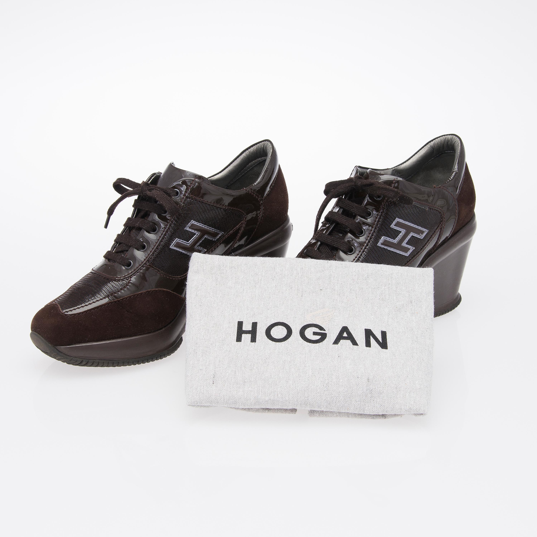 nouveau produit 25cac 7fd6a A Pair of HOGAN High Heel Sneakers, size 38. - Bukowskis