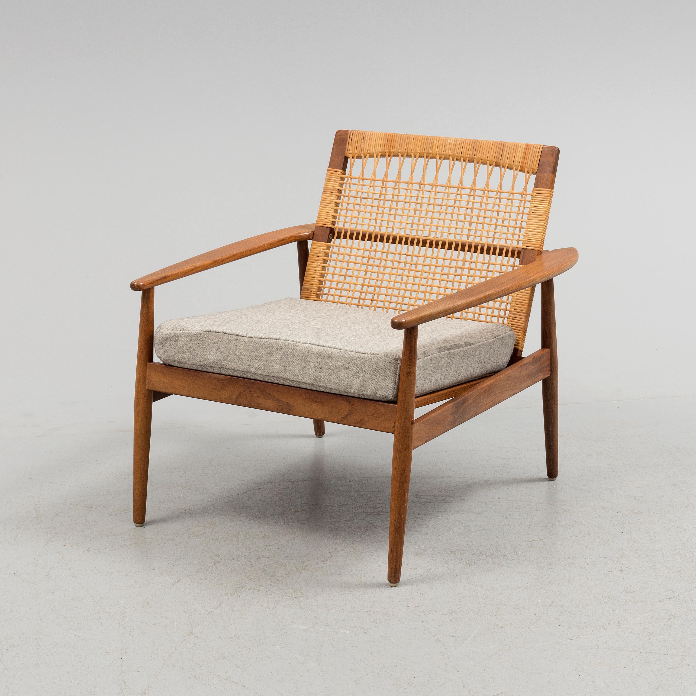 HANS OLSEN, HANS OLSEN, Easy Chair By Hans Olsen For Bøderna Juhl  Kristensen.   Bukowskis