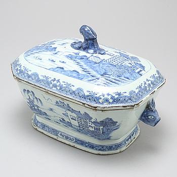 TERRIN, porslin, Kina, Qianlong (1736-1795).
