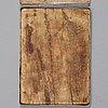 Ikon/plakett, sannolikt bysantinsk, medeltid fram till 1453.