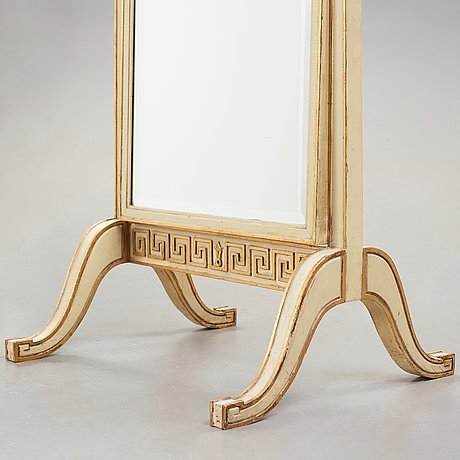Axel einar hjorth, a cheval glass mirror, model 'Åbo', nordiska kompaniet, sweden ca 1928-30.