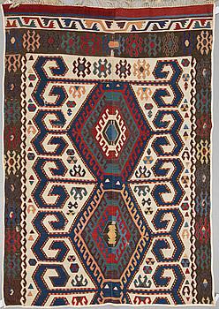 MATTA, antik Anatolisk kelim, ca 219 x 162 cm.