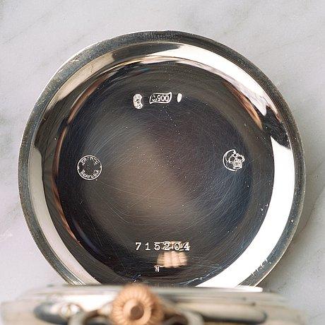 "Ulysse nardin, ""corps of engineers"", pocket watch, 53 mm."