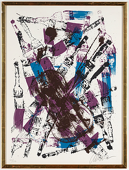 FERNANDEZ ARMAN, serigraph, signed and numbered 52/150.
