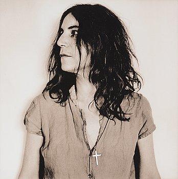 "137. Anton Corbijn, ""Patti Smith, New York 1999""."