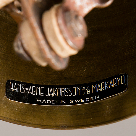 Hans-agne jakobsson, taklampa, markaryd.