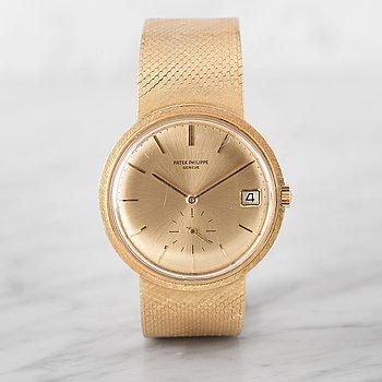 10. PATEK PHILIPPE, Genève, wristwatch, 35 mm.